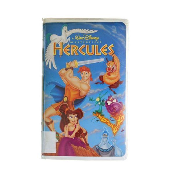 Neverland Ranch Barcoded Disney's Hercules VHS