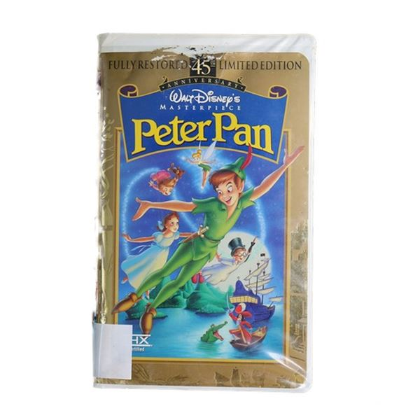 Neverland Ranch Barcoded Disney's Peter Pan VHS