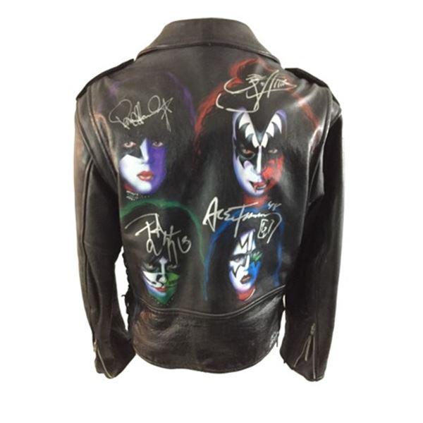 KISS Signed Jacket Music Memorabilia