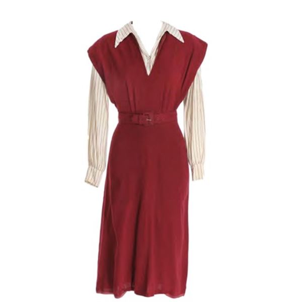 Love Letter (1945) Singleton (Jennifer Jones) Dress Movie Costumes