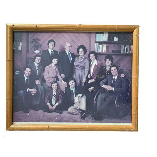 The Osmond Autographed Family Portrait