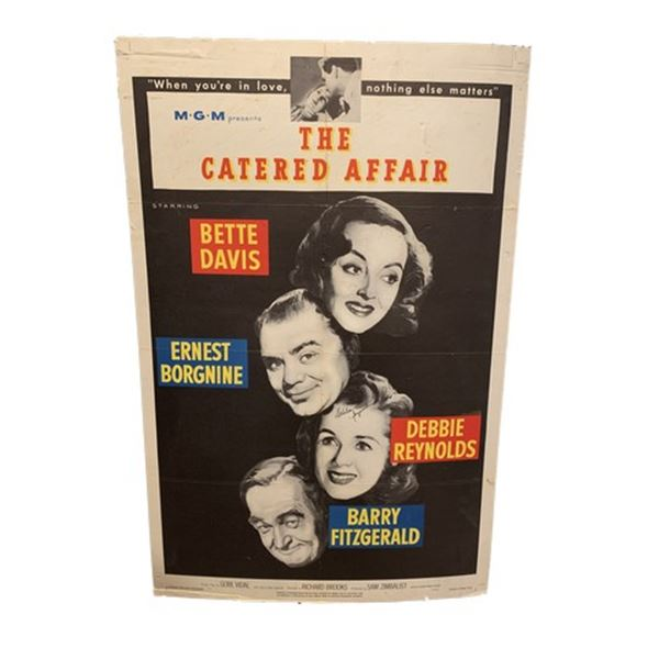 MGM's Catered Affair Signed Movie Poster