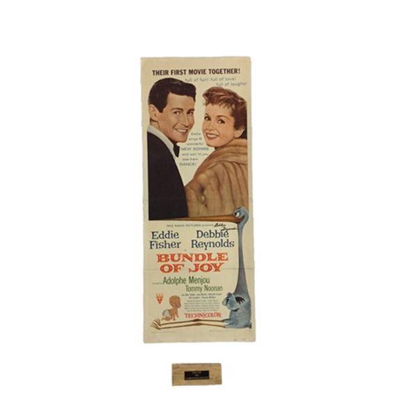Bundle of Joy Poster Insert Poster with Piece of Debbie Reynolds Dance Studio Floor