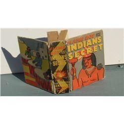 An 1938 First Edition little big book Flame Boy and the Indians' Secret- gros petit livre 1938 vieux