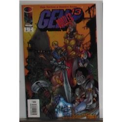 Gem 13 Bootleg 13 January 1997 Printed in Canada MINT comic book - bande dessinée toujours neuve