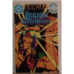 DC Annual 1984 No 3 Legion of Super Heroes thick MINT over 38 pages - bande dessinée vieille