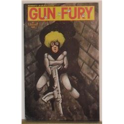 Aircel Comics Gun Fury #4 1989 near mint or mint 30+ black & white pages - bande dessinée anglais