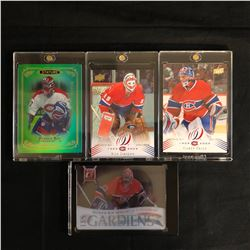 KEN DRYDEN/ PATRICK ROY/ CAREY PRICE HOCKEY CARD LOT
