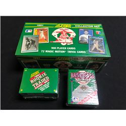 1990s BASEBALL CARD SETS LOT