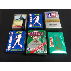 BASEBALL PLAYER CARDS LOT
