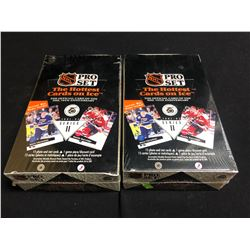 1991-92 PRO SET SERIES II HOCKEY HOBBY BOXES LOT
