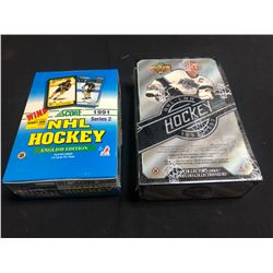1990s HOCKEY HOBBY BOXES LOT