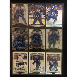 VANCOUVER CANUCKS UPPER DECK HOCKEY CARD LOT (ROOKIES...)