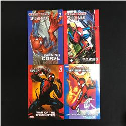 ULTIMATE SPIDER-MAN PAPERBACK BOOK LOT (MARVEL)