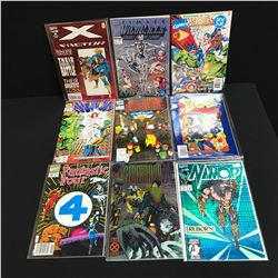 MARVEL COMICS BOOK LOT (X-FACTOR, HULK, FANTASTIC FOUR...)