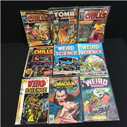 CHAMBERS OF CHILLS/ WEIRD SCIENCE COMIC BOOK LOT