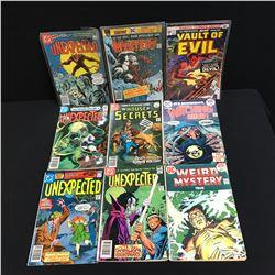 DC COMICS BOOK LOT (UNEXPECTED, VAULT OF EVIL...)