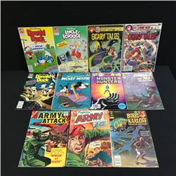 VINTAGE COMIC BOOK LOT (UNCLE SCROOGE, MICKEY MOUSE...)