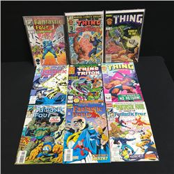 FANTASTIC FOUR/ THE THING COMIC BOOK LOT (MARVEL COMICS)