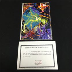 ASH RED FERENHEIT #5 (EVENT COMICS) Signed by Joe Quesada & JImmy Palmiotti w/ COA