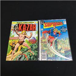 KAZAR/ SUPERGIRL #1 COMIC BOOK LOT