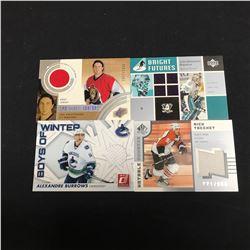 NHL HOCKEY JERSEY CARD LOT