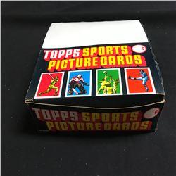 1988 Topps Baseball Rack Pack Box 24 Packs Per Box 43 Cards Per Pack (Tom Glavine RC?)