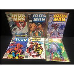 IRON MAN COMIC BOOK LOT (MARVEL COMICS)