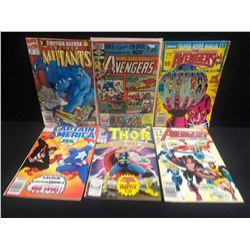 ASSORTED COMIC BOOK LOT (AVENGERS, CAPTAIN AMERICA, THOR...)