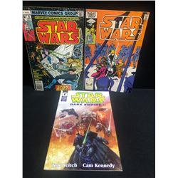 STAR WARS COMIC BOOK LOT (MARVEL/ DARK HORSE COMICS)
