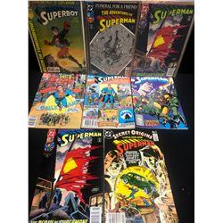 MIXED SUPERMAN COMIC BOOK LOT (DC COMICS)