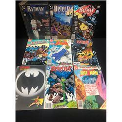 MIXED BATMAN COMIC BOOK LOT (DC COMICS)