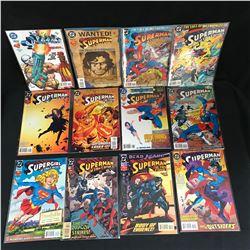 SUPERMAN in Action Comics BOOK LOT (DC COMICS)