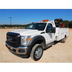 2013 FORD F550 Service / Mechanic / Utility Truck