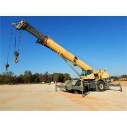 2007 GROVE RT890E Rough Terrain Crane