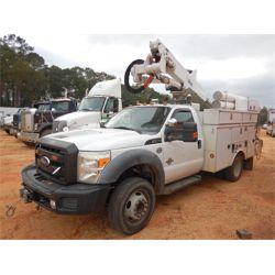 2011 FORD F550 Bucket Truck
