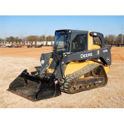 2015 JOHN DEERE 333E Skid Steer Loader - Crawler
