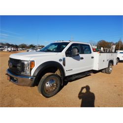 2017 FORD F550 Service / Mechanic / Utility Truck