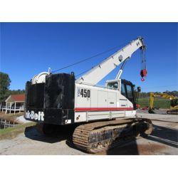2014 LINK BELT TCC-450 Crawler Crane