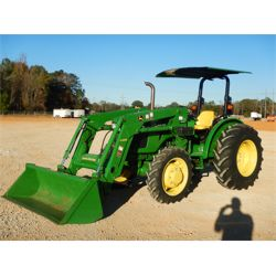 2017 JOHN DEERE 5065E Farm Tractor