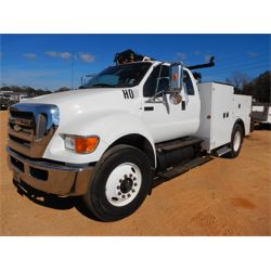 2009 FORD F750 Service / Mechanic / Utility Truck