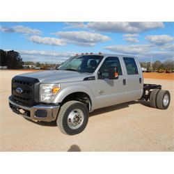 2012 FORD F350 Cab and Chassis Truck