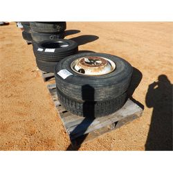 (2) 11R22.5 TIRES W/RIMS  Miscellaneous