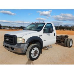 2006 FORD F550 Cab and Chassis Truck