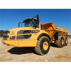 2016 VOLVO A40G Articulated Truck