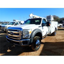2012 FORD F550 Service / Mechanic / Utility Truck