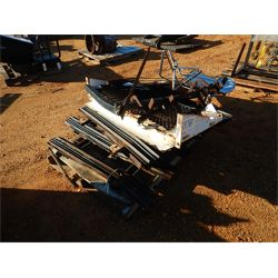 (1) PALLET HEADACHE RACKS & STAKE BODY  Truck Product and Accessory