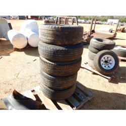 (5) TIRES W/RIMS  Miscellaneous