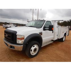 2008 FORD F550 Service / Mechanic / Utility Truck