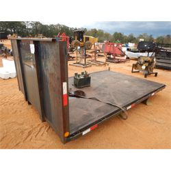 12' FLATBED TRUCK BODY Truck Product and Accessory